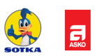 Indoor Group Oy / Asko ja Sotka Raisio logo